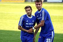 Lukáš Buchvaldek a Tomáš Chorý
