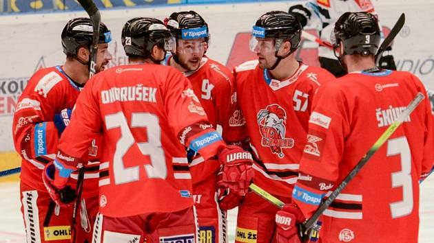 Hokejisté HC Olomouc. Ilustrační foto