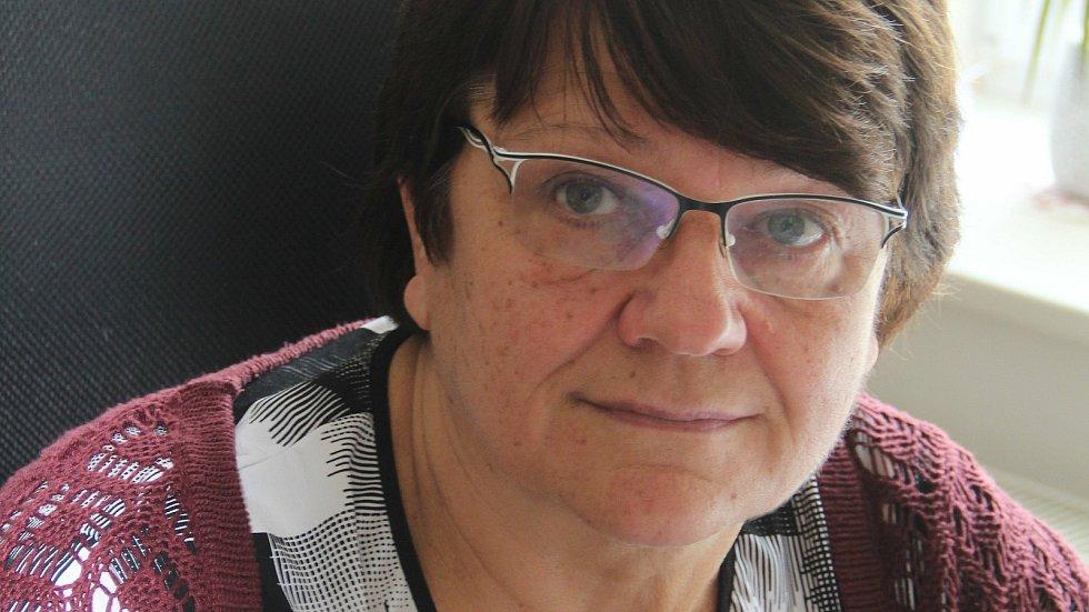 Starostka Křelova-Břuchotína Marie Škavronková