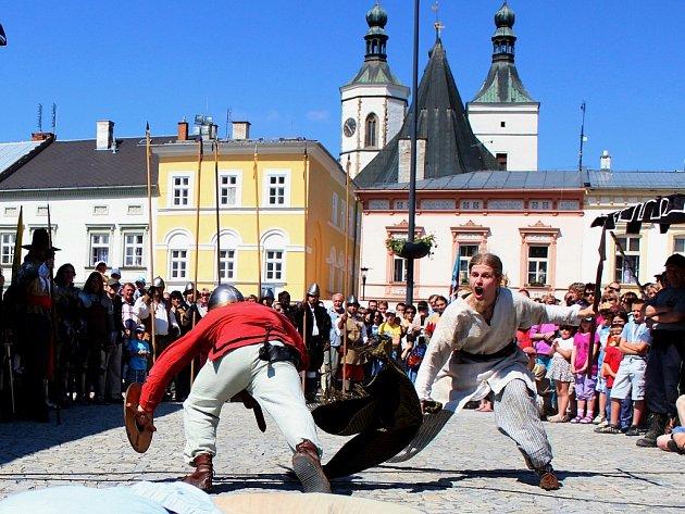 Uničov slaví 800 let. Ilustrační foto