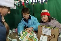 Vánoční jarmark v olomoucké škole sv. Voršily