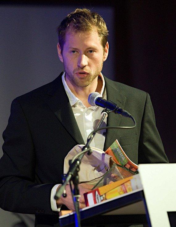 Vyhlášení ankety Nejlepší sportovec Olomoucka 2012: Tomáš Slovák