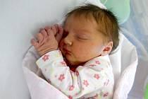 Karolína Fremlová, Štarnov narozena 18. března míra 50 cm, váha 3390 g