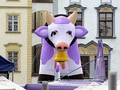 Jak fialová kráva v Olomouci vstoupila mezi památky UNESCO.