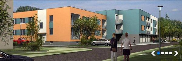 Horova - vizualizace bytových domů vHodolanech