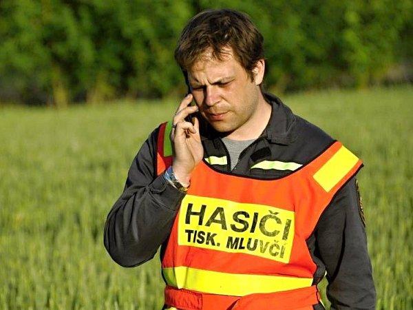 Mluvčí olomouckých krajských hasičů Zdeněk Hošák