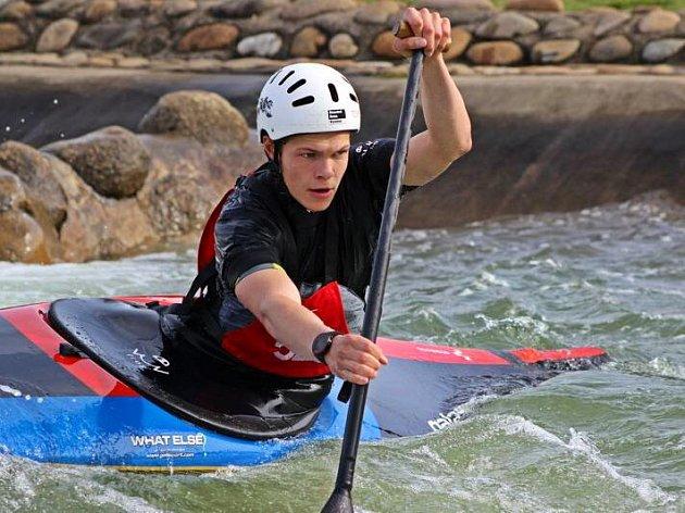 Olomoucký slalomář Václav Chaloupka