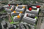 Vizualizace projektu Nová Sladovna v Olomouci