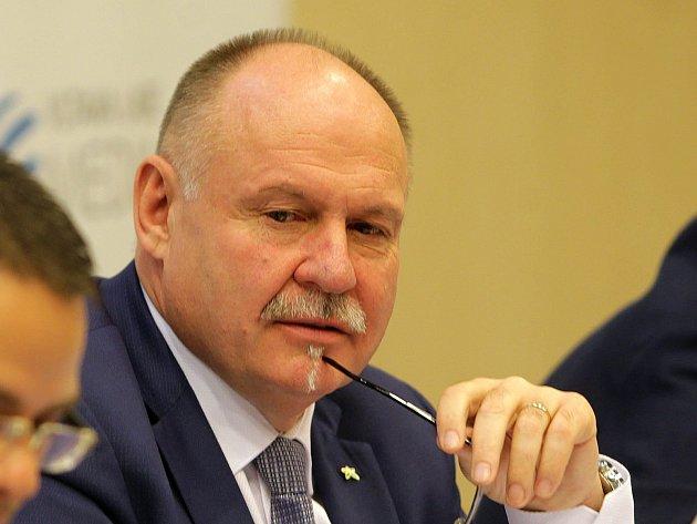 Olomoucký hejtman a šéf krajské organizace ANO Ladislav Okleštěk