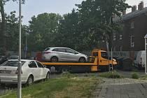Nehoda na Masarykově třídě v Olomouci, 10. 6. 2019