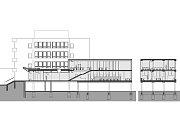Vizualizace dostavby právnické fakulty v Olomouci