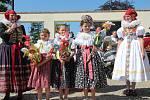 Desáté výročí letos oslavily Slavnosti kroje ve Velké Bystřici na Olomoucku