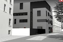Návrh podoby dostavby Slovanského gymnázia. Zdroj: Atelier - R