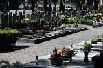 Městský hřbitov ve Šternberku.