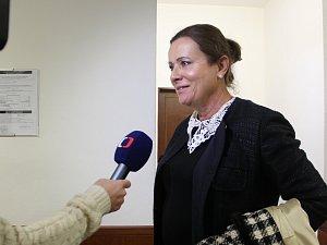 Bývalá předsedkyně Energetického regulačního úřadu Alena Vitásková u olomouckého Vrchního soudu