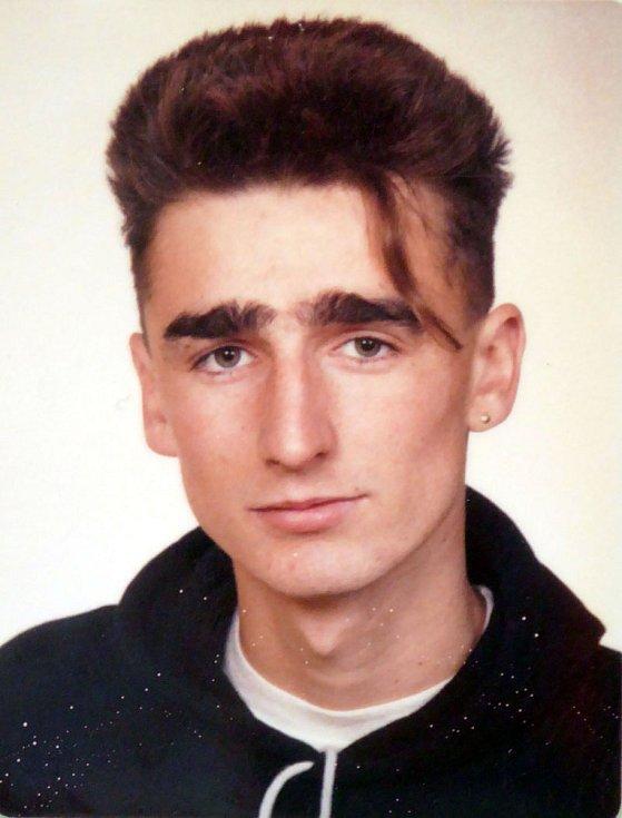 Civilní portrét Jaroslava Lieskovana z mládí