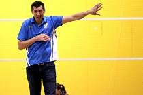 Trenér Olomouce Michal Pekárek