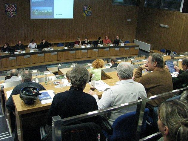 Diskuse o územním plánu.