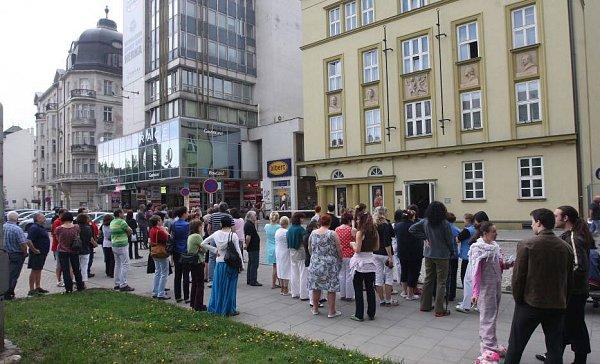 Požární cvičení vMoravském divadle Olomouc