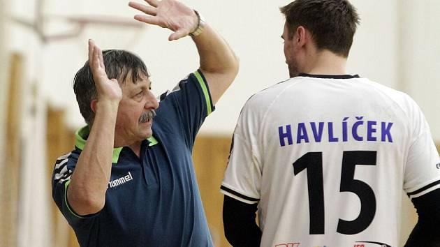 Trenér Litovle Jaroslav Hudeček