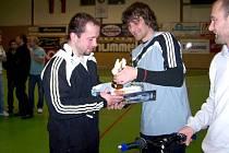 Olpran Cup 2010 - nejlepší gólman Jan Navrátil (Nešvar)