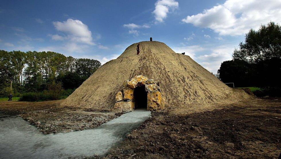 Sluneční hora. Otevření Domu přírody Litovelského Pomoraví u Horky nad Moravou