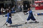 Šermíři na náměstí