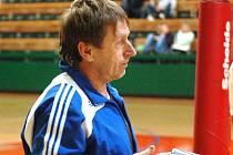 Trenér SK UP Olomouc Jiří Teplý
