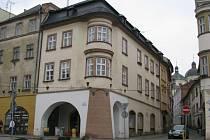 Dům na rohu Panské a Dolního náměstí.
