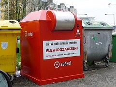 Kontejnery na drobný elektroodpad