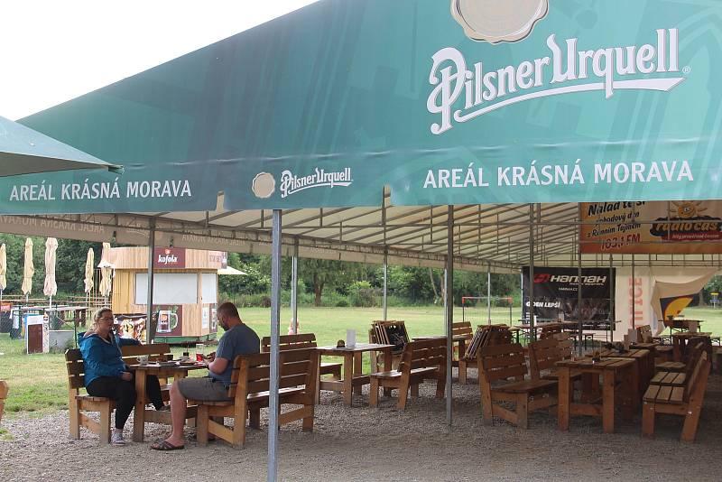 V kempu se letos kromě Čechů ubytovali také návštěvníci z Rakouska, Německa a Švýcarska.