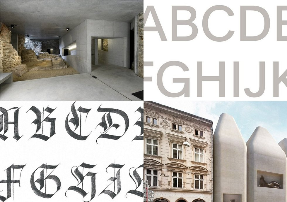 Nový vizuální styl Muzea umění Olomouc, jejichž autory je trojice designerů Anežka Hrubá Ciglerová, Nikola Wilde a Richard Wilde