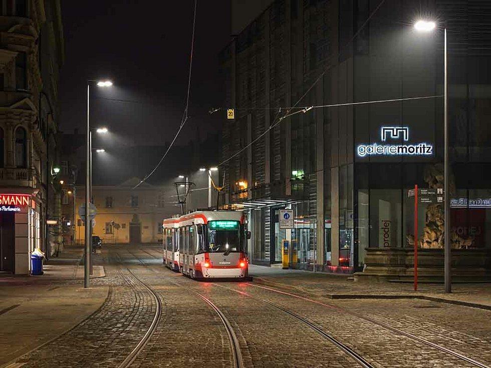 Stavba roku Olomouckého kraje 2020. V kategorii Stavby dopravní, inženýrské a vodohospodářské zvítězila rekonstrukce tramvajové trati v ulici 8. května.