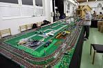 Lego jízda vláčkem