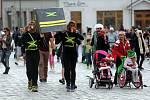 Recesistický a charitativní Půlvánoční běh v Olomouci