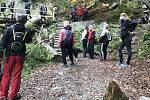 Rešovské vodopády, 25. října 2020