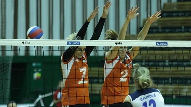 Olomouc (v oranžovém) vs. Přerov
