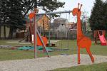 Zahrada mateřské školy ve Slatinicích