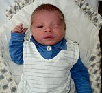 David Zahrádka, Šternberk, narozen 31. ledna ve Šternberku, míra 50 cm, váha 3250 g