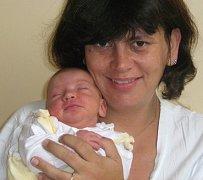 Lucie Gazdová, Lutín, narozena 27. září v Olomouci, míra 51 cm, váha 3420 g