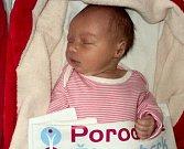 Pavlína Oprštěná, Bohuňovice narozena 19. listopadu míra 47 cm, váha 2990 g