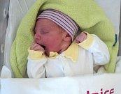 Eliška Sýkorová, Bohuňovice, narozena 2. dubna, míra 51 cm, váha 4440 g