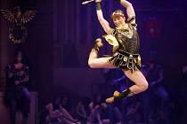 Balet Spartakus na prknech Moravského divadla Olomouc