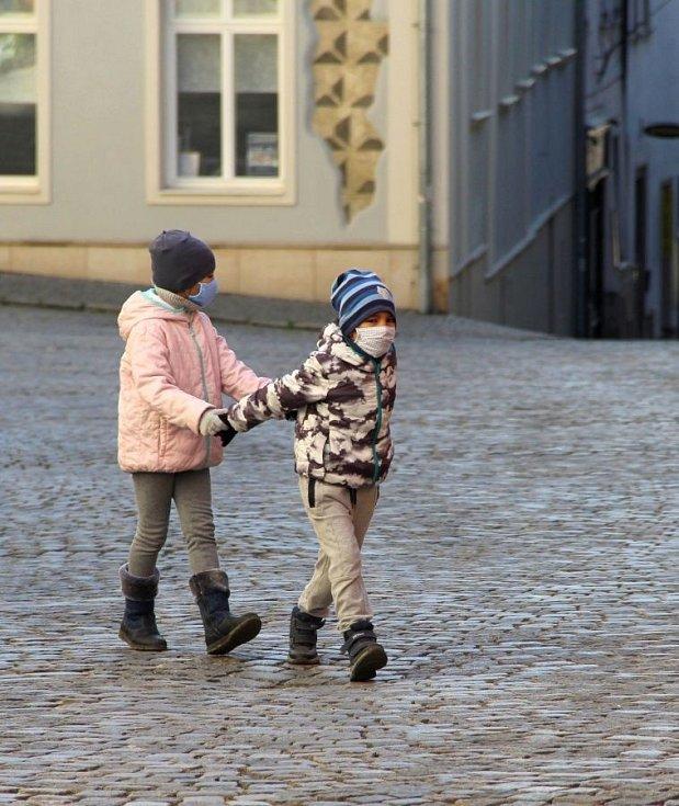 Olomouc v čase koronaviru. Žerotínovo náměstí