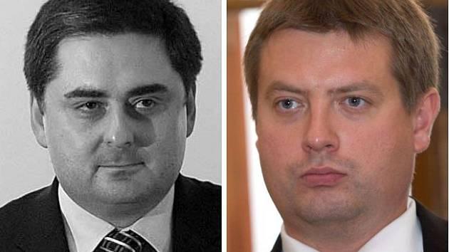 Střídání primátorů: Martin Novotný a Martin Major
