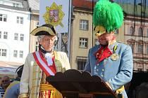 Oslavy maršála Radeckého v Olomouci 2015