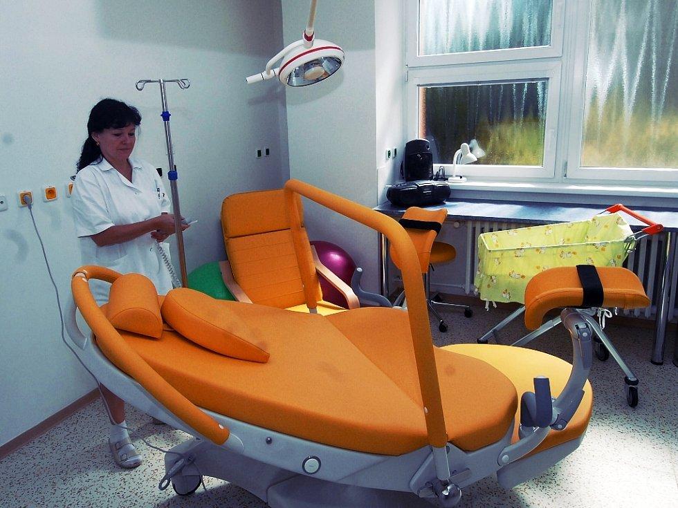 Moderní porodnice ve šternberské nemocnici. Ilustrační foto