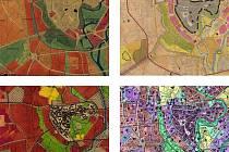 Z publikace Univerzity Palackého mapující proměnu Olomouce od roku 1930 do roku 2009