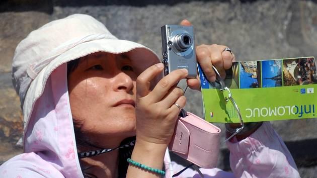 Japonská turistka.
