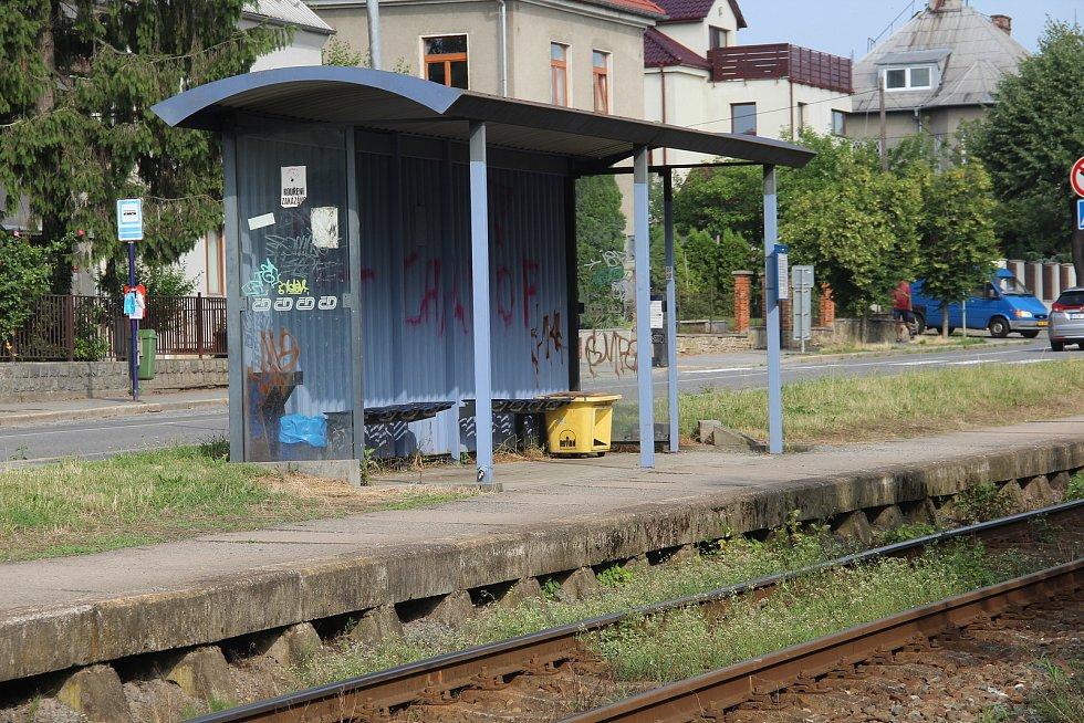 Železniční zastávka Olomouc-Hejčín, 13. září 2021